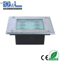 LED Underground Light 6W 480LM IP65 Square shape