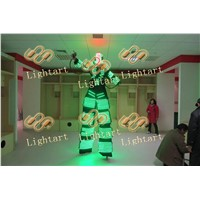 LED laser luminous clothes light dance performance props stage romote switch