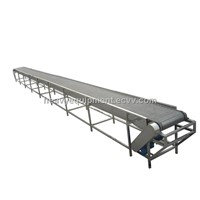 Large Capacity Vibrating Screen Plant PVC Rubber Conveyor Belt for Sand