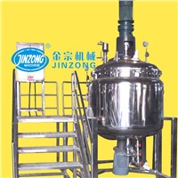 Liquid Detergent Mixing Tank,1000L liquid detergent Homogenizing Emulsifying Machine