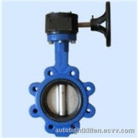 Lug Type Gear Operated Butterfly Valve