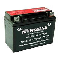 Maintenance Free Motorcycle Battery