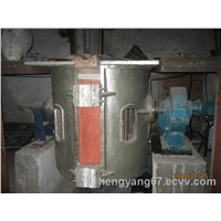 Metal foundry induction furnace