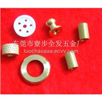 Micro CNC custom machining knurled insert nuts,with competitive price,can small order