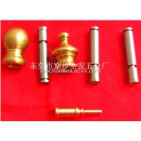 Mini CNC custom machining stainless steel shaft,brass decoration,can small orders
