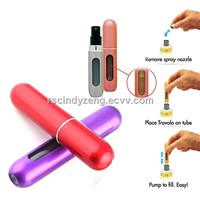 Mini Refillable Perfume Atomizer Bottle For Travel Spray Scent Pump Case