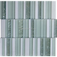 Mixed Glass Marble Mosaic