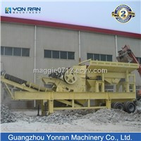 Mobile Portable Impact Crusher Plant