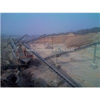Overland Long-distance Curved Belt Conveyor