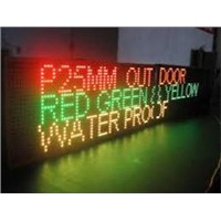 P25 led display sign