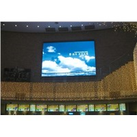 P5 Indoor Full Color LED Displays Electronic Signs , V140/H140 800 Hz Refresh Rate