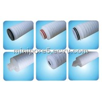 PES Membrane pleated Filter cartridge