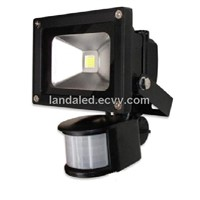 PIR sensor LED flood lamp 10W /20W /30W /50W AC85-265V / DC12-24V