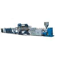 PP/PE/PVC/ABS/PET Plastic Sheet Extrusion Line