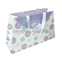Paper Bags with Ribbon Handle and Bowknot
