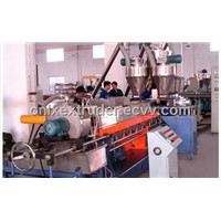 Parallel Twin Screw Pelletizing Line(passed ISO9001:2000 and CE certificate)