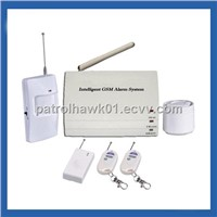 Patrol Hawk G12 Industry Household GSM Intelligent Alarm System - White