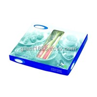 Plastic Handle Cutlery Set with Gift Box