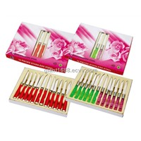 Plastic Handle Stainless Steel Fruit Knives Set