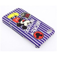 Plastic Hard Case(back cover) with Mickey printing