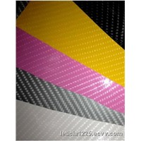 Popular 4D Carbon Fiber Vinyl Car Sticker 1.52x30m