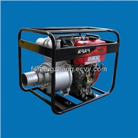 Portable 4 Inch Diesel Water Pump