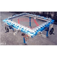 Precision Screen Stretcher - Manufacture Printing Plate - Aluminium - Screen Stretching Machine - QA