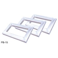 Printing Plate - Aluminium Alloy - Screen Printer Parts - High Strength - Tetragon - QA