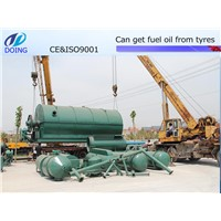Professional manufacture waste tyre recycling machine
