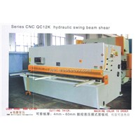 QC12K Hydraulic Swing Beam Shearing Machine