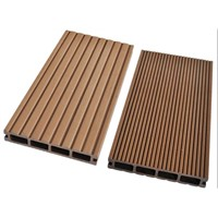 Recyclable WPC Outdoor Decking 146*24mm