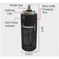 Relacement LED-Flashlight Battery
