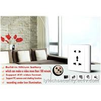 Remote Control Socket Camera/Spy Socket Camera (LY-HCRCS08)