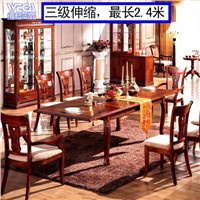 Rubber Solid Wood Hotel Furniture T241B