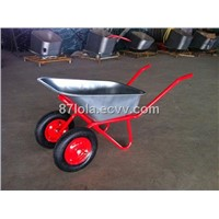 Russia dual wheel wheelbarrow WB6425A