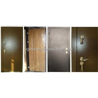 Russian Style Steel Wood Armored Door