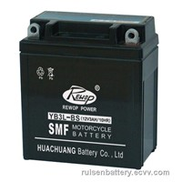 sealed lead acid motorcycle battery YB3L-BS