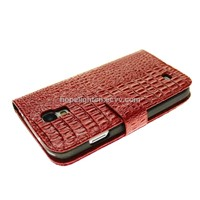 Samsung Galaxy S4 i9500 Cover with Crocodile Embossed PU Leather