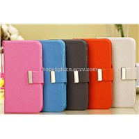 Samsung Galaxy S4 i9500 Case PU Twill Leather S4 Protect Case