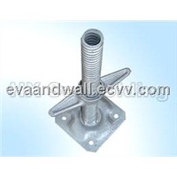 Scaffolding Adjustable Galvanized Base Jack