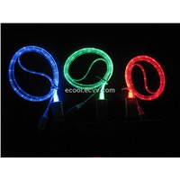 Shining Accessories LED Light USB Cable for iPhone 5/ iPad Mini