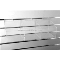 Slatwall Acrylic Large Bow Dump 590*200*195mm