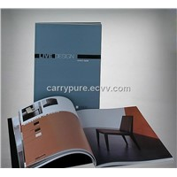 Softcover catalog with customized design