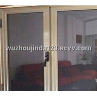 Stainless anti-theft security window screen