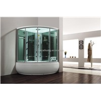 Steam  shower sauna room computure room