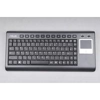 Stock Promotion-2.4G Wireless Keyboard with Touchpad K8,Best for Media Center and HTPC
