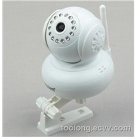 Support 32 G TF Card Home Surveillance IP Camera