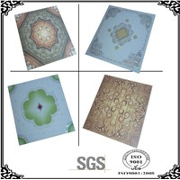 Suspended ceiling and Drop ceiling & Tile ceiling(595X595X7mm) hot stamping ,SGS