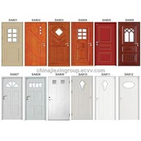 Swedish European Style Steel Wood Armored Door