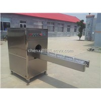 TK-C2000 INDUSTRIAL USED ONION ROOT CUTTING MACHINE IN CHINA